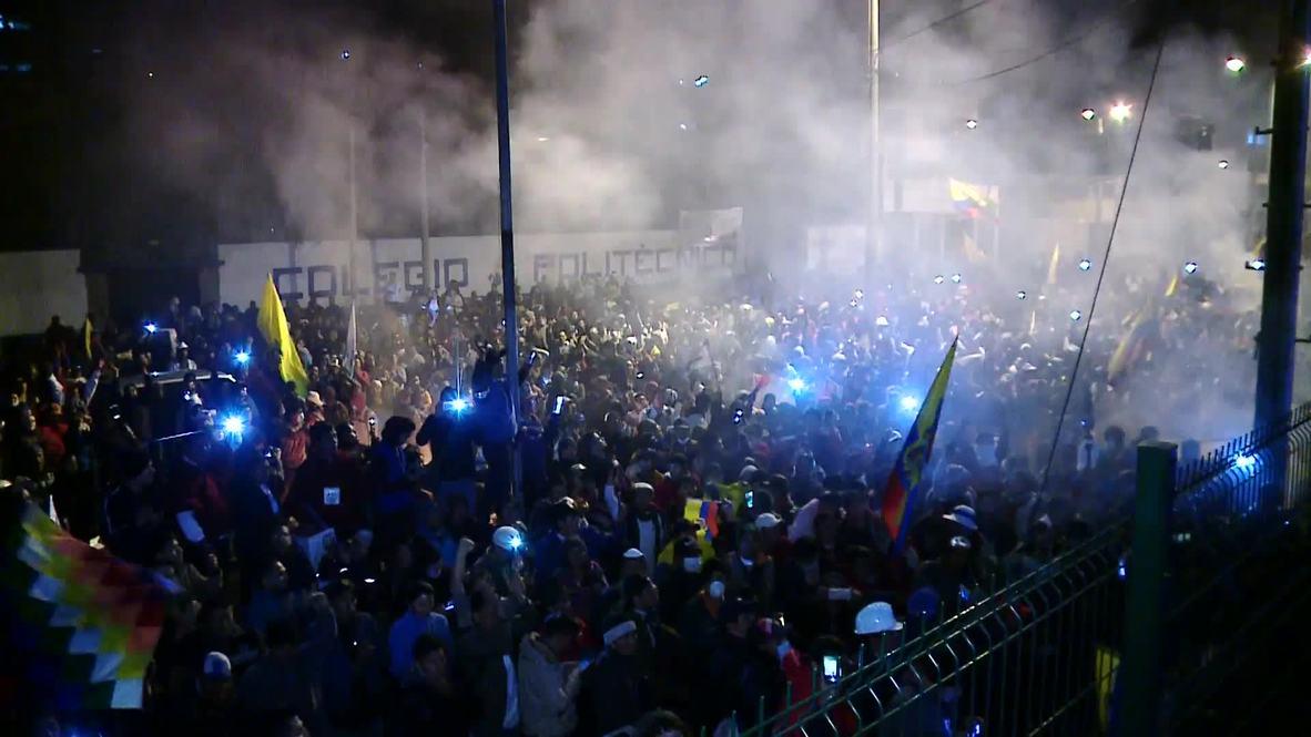 Ecuador: Quito erupts in joy after gov. scraps decree removing fuel subsidies