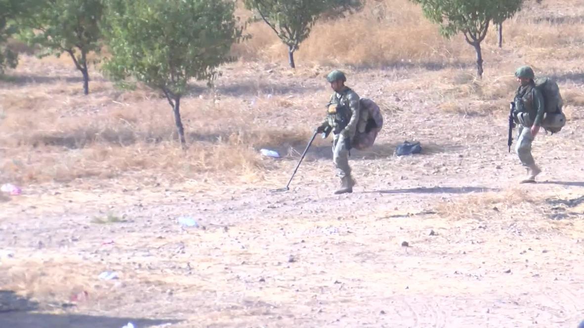 Syria: Turkish forces near Manbij as Damascus strikes deal with Kurdish groups