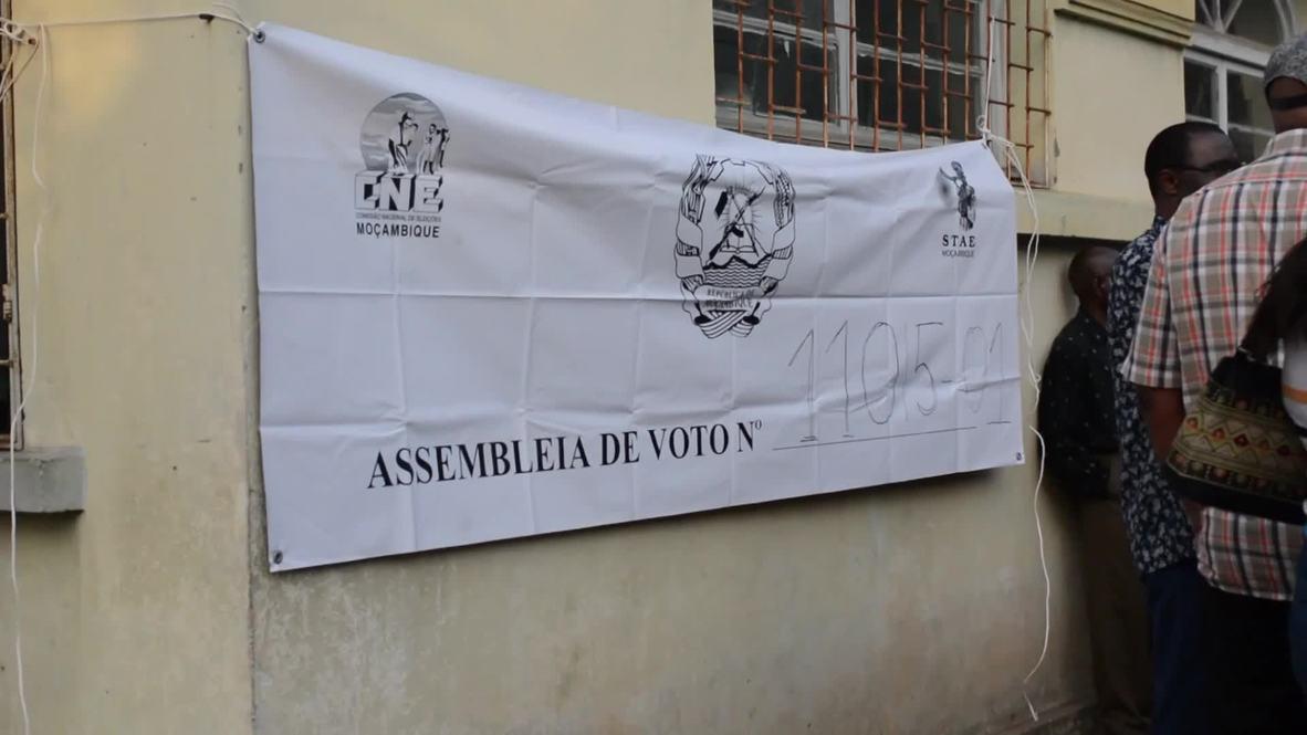 Mozambique: Queues at polls for general elections