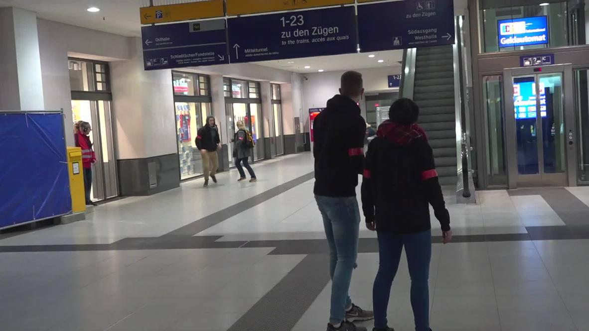 Germany: Nuremberg train station shuts down for massive anti-terror exercise