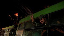 Siria: Residentes de Kobani reciben a las fuerzas del Ejército Árabe Sirio