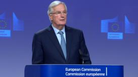 Belgium: EU's Chief Brexit negotiator Barnier announces agreement with UK