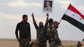 Siria: Soldados del Ejército Árabe Sirio logran entrar en base aérea de al Tabqa depués de seis años