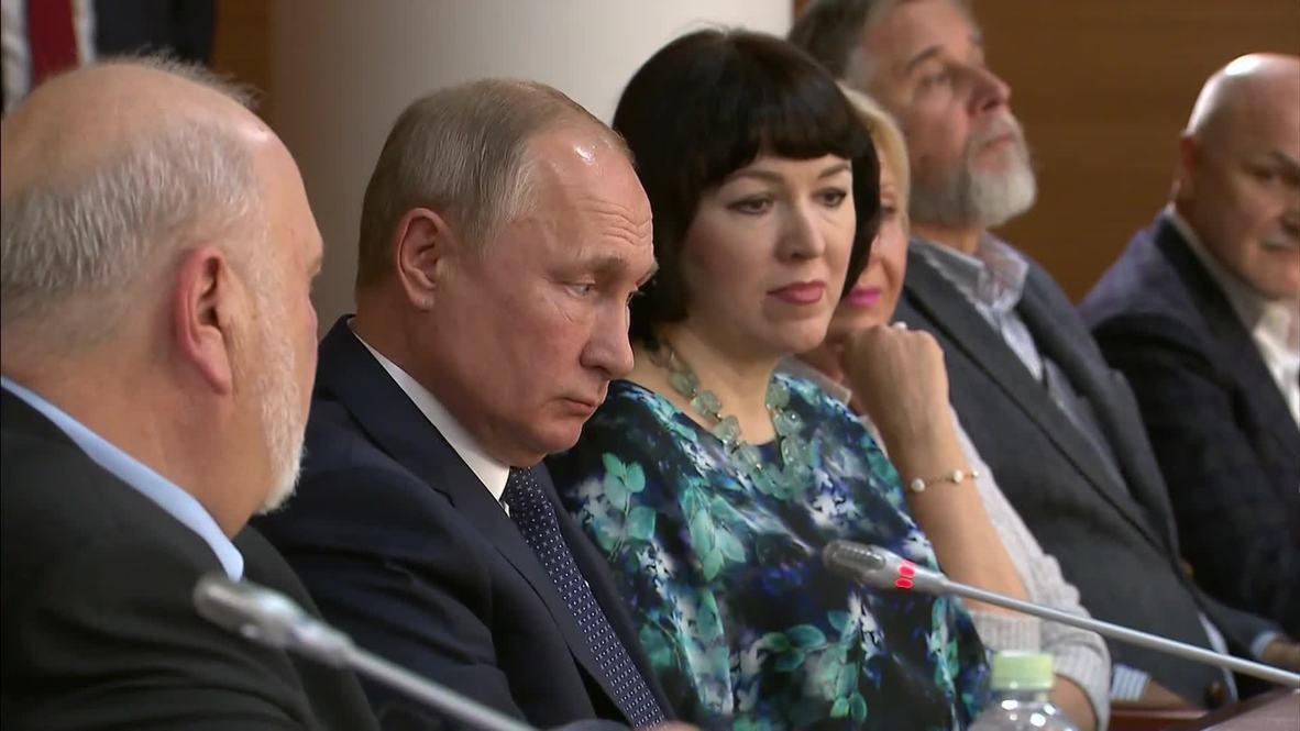 """Россия: """"Мягкая сила"""". Путин оценил влияние специалистов ВГИКа за рубежом"""
