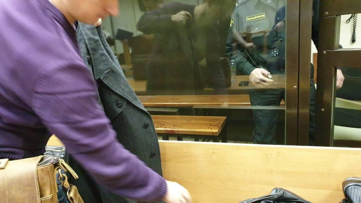"""Россия: Двое обвиняемых по делу """"Нового величия"""" вскрыли вены в суде *ФОТО*"""