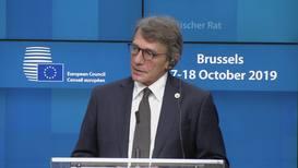 Belgium: EU 'ready' to ratify Brexit deal before October 31 deadline - EP Pres. Sassoli