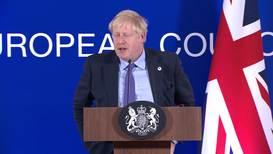 """Bélgica: Johnson """"muy seguro"""" de que el Parlamento aprobará el nuevo acuerdo del Brexit"""