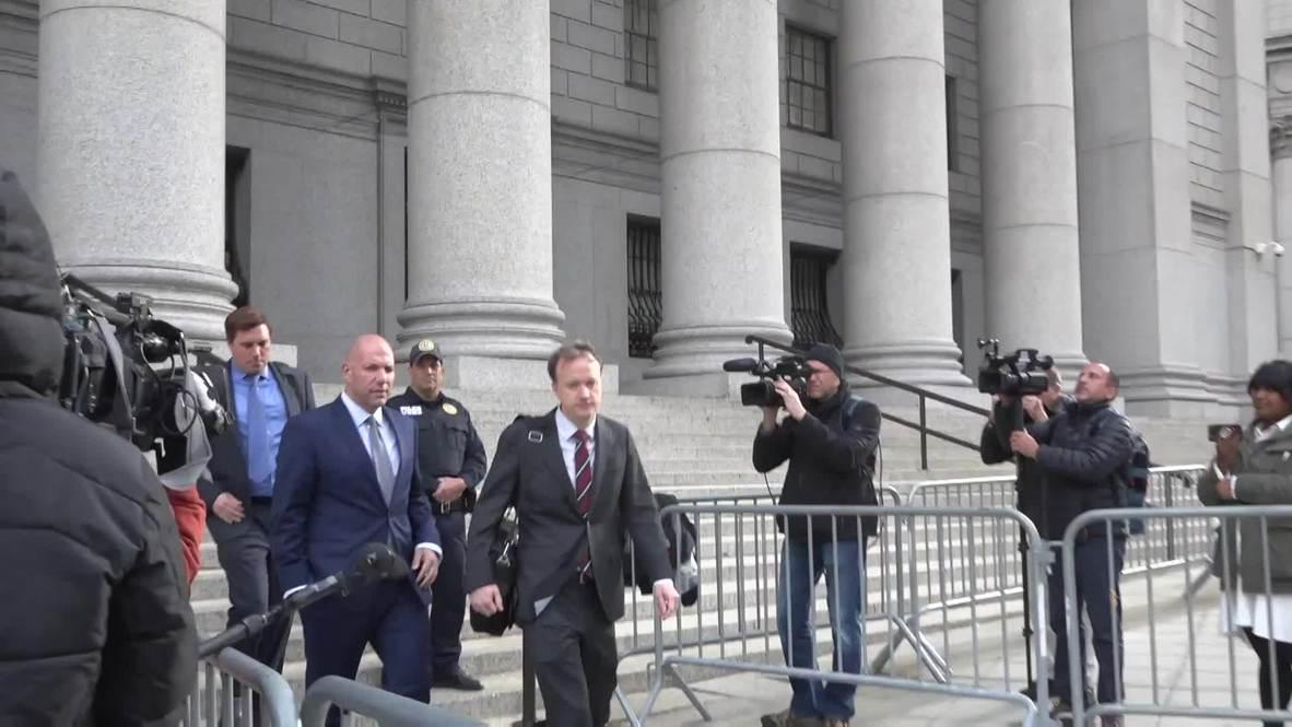 EE.UU.: Empresarios cercanos a Giuliani se declaran inocentes de financiación irregular de campaña