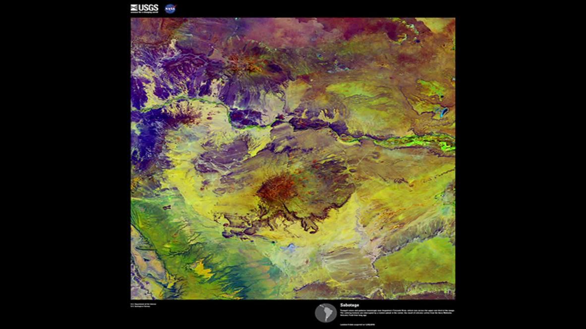 Земля, ты просто космос! Инфракрасные снимки планеты как произведения искусства