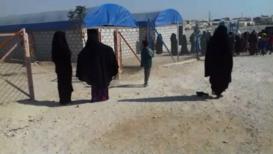Siria: Vídeo *EXCLUSIVO* del campo de refugiados de al-Hol en medio de la ofensiva turca