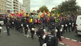 Alemania: Activistas kurdos marchan por Rojava en Colonia