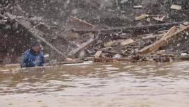 Россия: Поисково-спасательные работы на месте прорыва дамбы продолжаются
