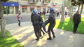 Азербайджан: Десятки участников несанкционированной акции протеста задержаны в Баку