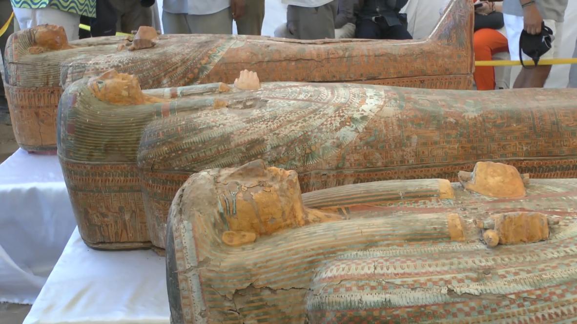مصر: اكتشاف 30 مومياء في وادي الملوك