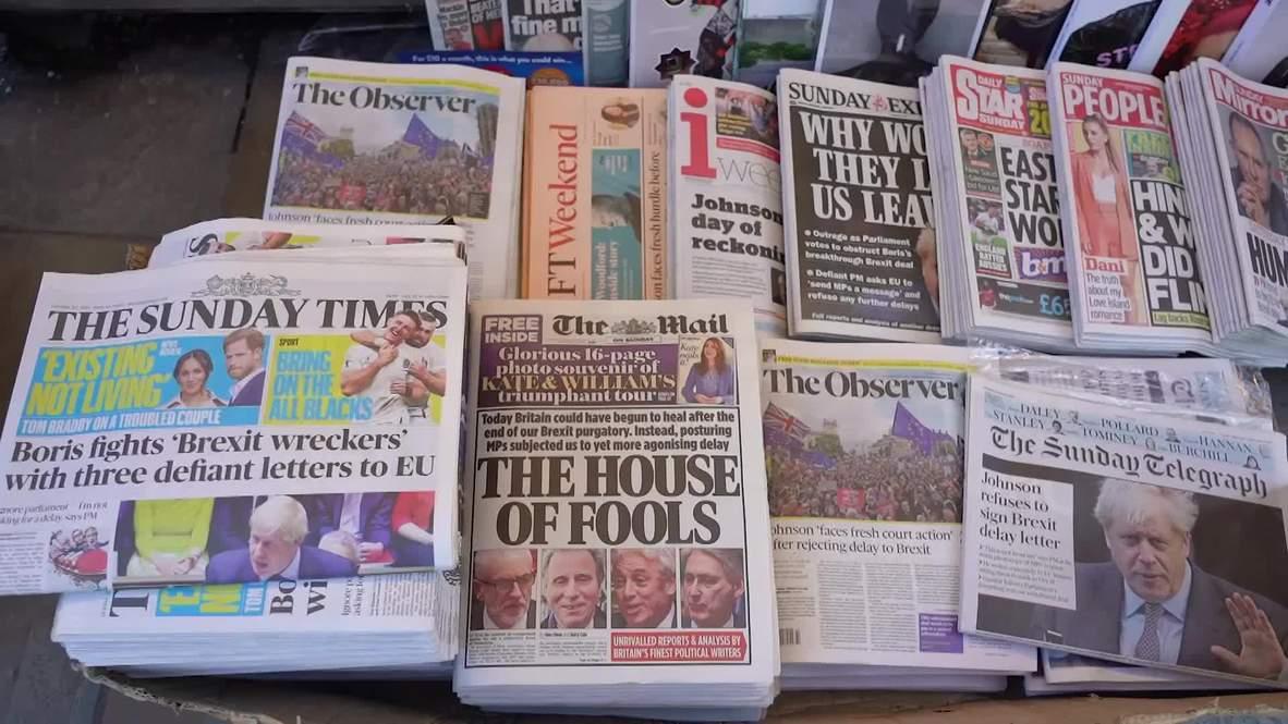 UK: Londoners comment on latest Brexit developments