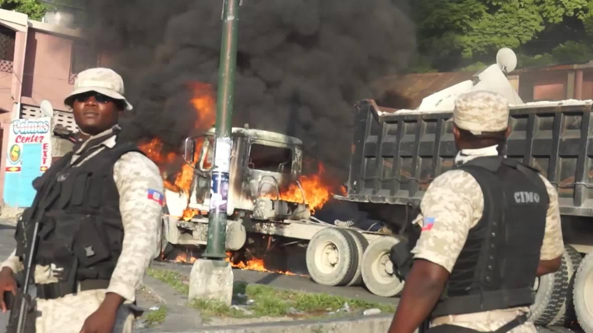 Haití: Calles en llamas mientras protestas antigubernamentales sacuden Puerto Príncipe