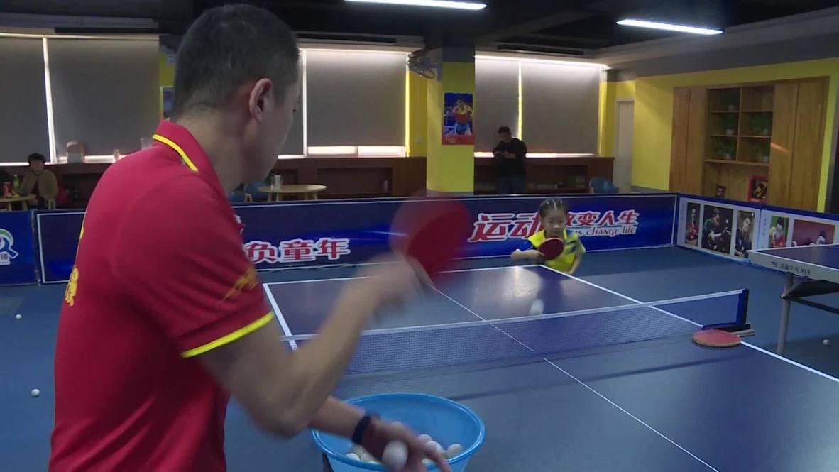 Viral crying ping-pong prodigy regains stiff upper lip