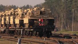 Литва: Тяжёлая военная техника США прибыла на полигон в Пабраде