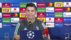 """Italia: """"Nadie preguntó sobre Lokomotiv"""" - Ronaldo bromea antes del juego por la Liga de Campeones"""