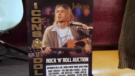 Kurt Cobain's $137,500 cardie goes under the hammer again in NYC