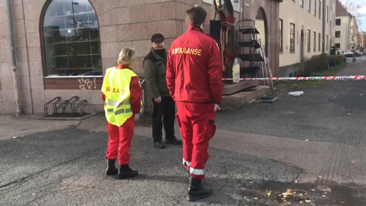 النرزيج: مسلح يصدم عددا من المارة بسيارة إسعاف مسروقة في أوسلو