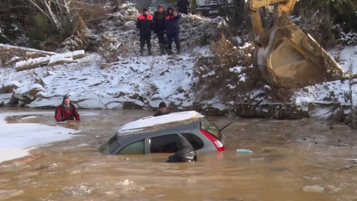 Россия: Число погибших при прорыве дамбы в Красноярском крае достигло 17 человек