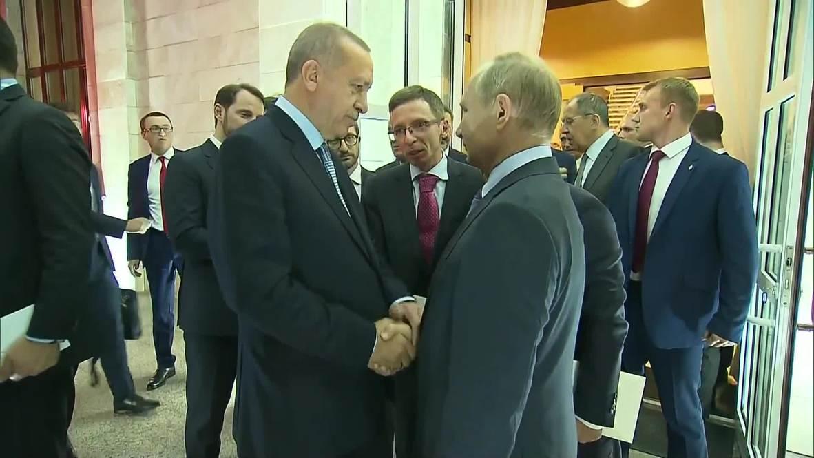 """Россия: """"Всего хорошего!"""" - Путин и Эрдоган завершили российско-турецкие переговоры в Сочи"""