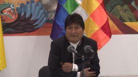 Bolivia: Evo Morales denounces 'coup d'etat' and urges people´s mobilisation