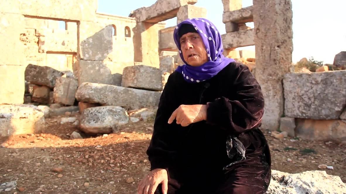 سوريا: إمرأة مسنًة تحمي بإخلاص موقع سيرجيلة الأثري