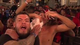 Brasil: Los hinchas del Flamengo celebran la llegada a la final de la Copa Libertadores