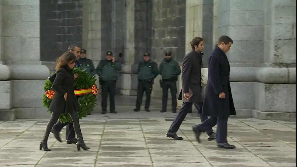 Испания: Останки диктатора Франко вывезли из мавзолея в Долине Павших