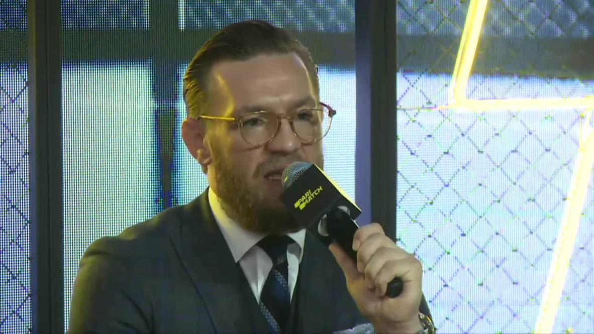 """Россия: Макгрегор готов к возвращению на ринг и ждет боя с """"трусом"""" Хабибом"""
