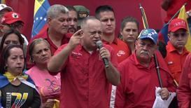 Venezuela: ANC President Cabello denounces US at Caracas rally