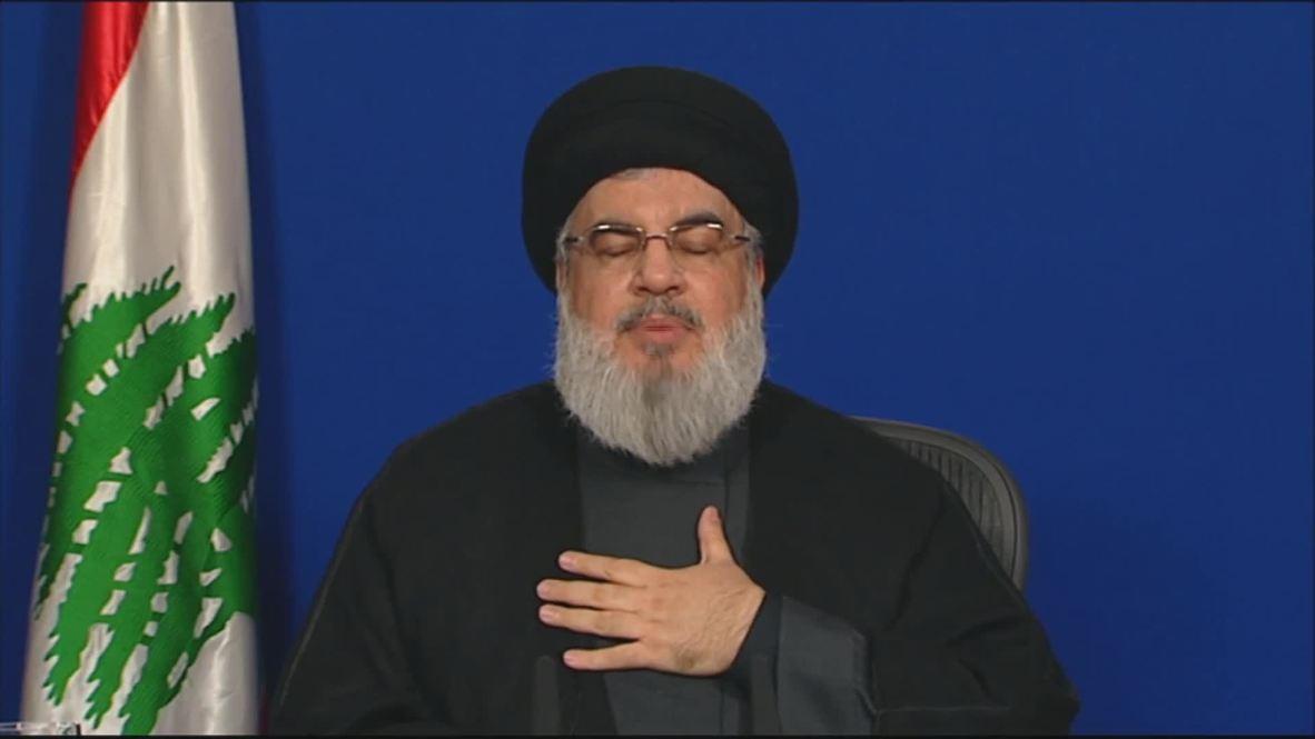 لبنان: نصر الله يدعو أنصاره إلى مغادرة المظاهرات لتفادي الفوضى