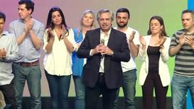 """Argentina: Fernández promete """"construir la Argentina que merecemos"""" tras ganar las elecciones"""