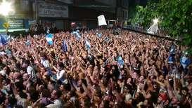 Argentina: Simpatizantes de Alberto Fernández celebran su victoria en las elecciones presidenciales