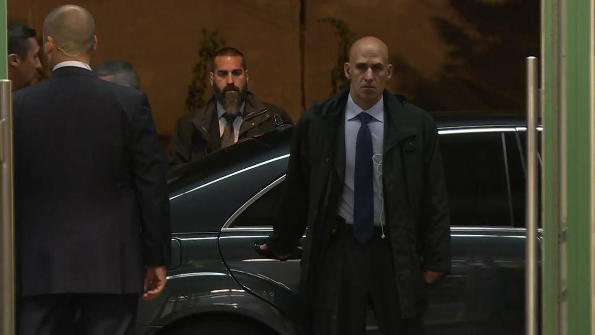 Suiza: Lavrov, Zarif, Cavusoglu llegan a la reunión ministerial en el formato de Astana en Ginebra