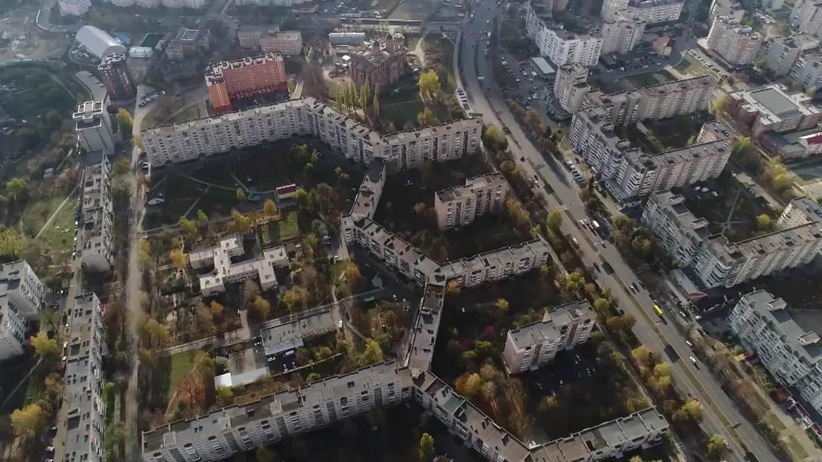 Украина: Шанхай по-Луцки. Самый длинный жилой дом в мире