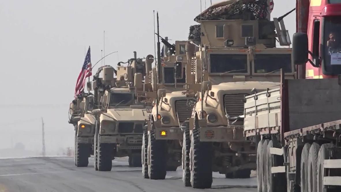 Siria: Tropas estadounidenses patrullan cerca de la frontera entre Turquía y Siria