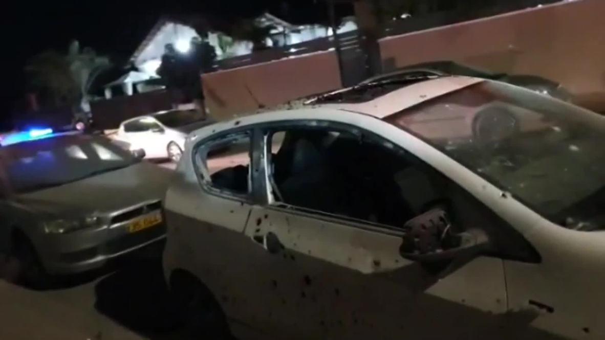 إسرائيل: استهداف منطقة سكنية عبر إطلاق صاروخ من قطاع غزة