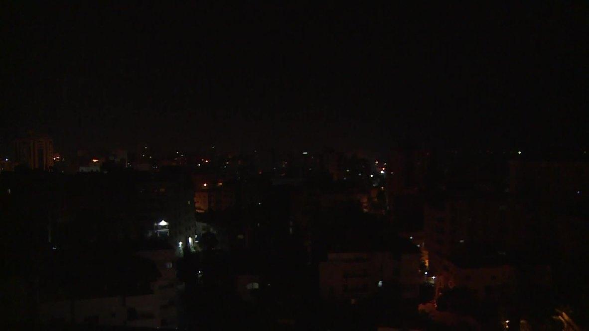 دولة فلسطين: إسرائيل تقصف مواقع لحركة حماس في قطاع غزة