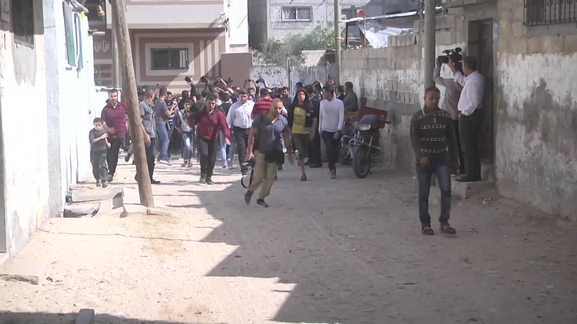 دولة فلسطين: غزّة تشيّع ضحية الهجمات الجوية الإسرائيلية