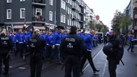 Germany: Hertha fans make presence felt en route to Union Berlin derby