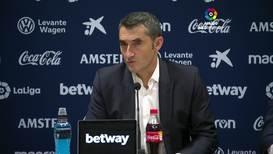 Spain: Barca boss Valverde dismisses resignation rumours after Levante loss