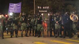 Hong Kong: Tear gas deployed at 'emergency call' rally