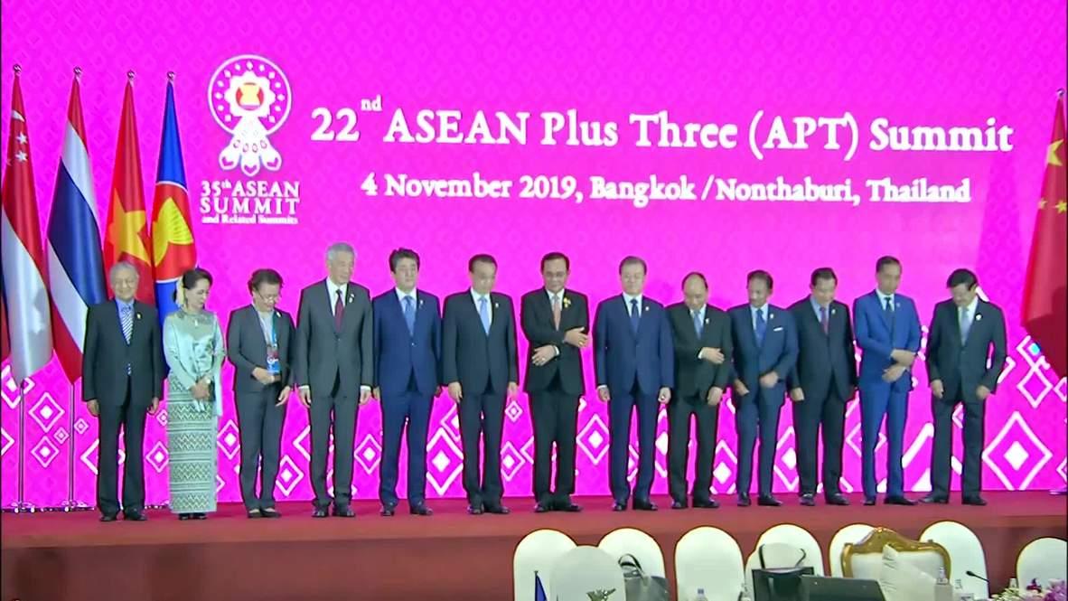 Thailand: Leaders meet for 22nd ASEAN Plus Three Summit