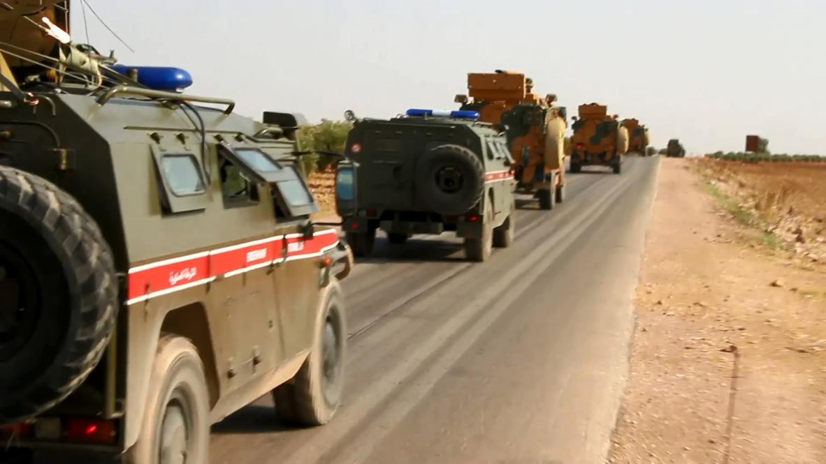 Syria: Russia, Turkey hold second joint patrol near Kobane