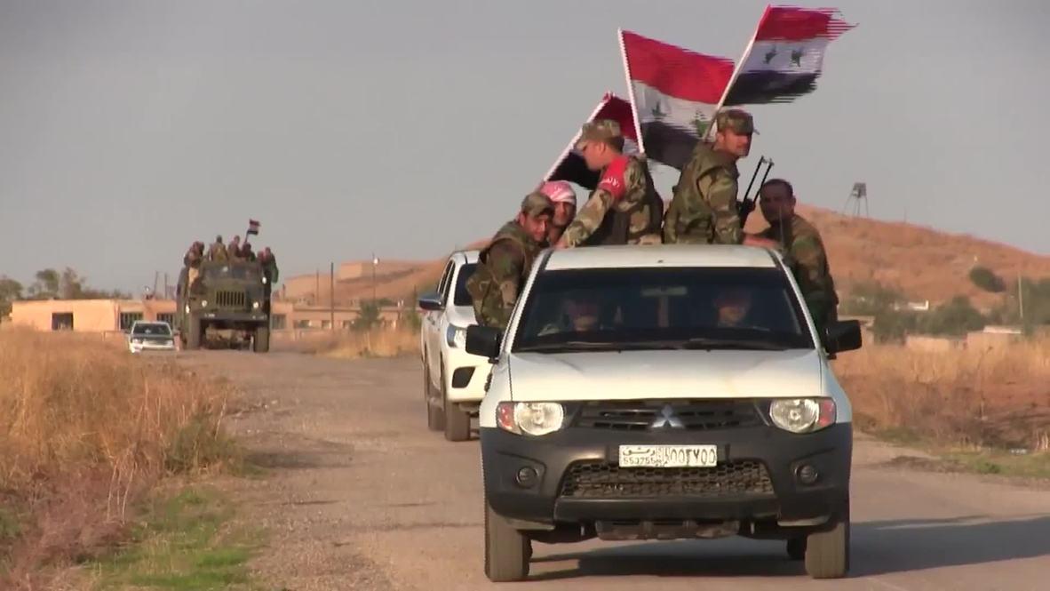 سوريا: الجيش العربي السوري ينتشر في الريف الشرقي لمدينة القامشلي