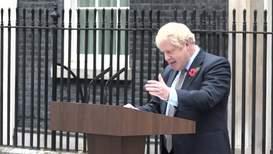 UK: Johnson warns of Corbyn's potential 'technicolour yawn' coalition