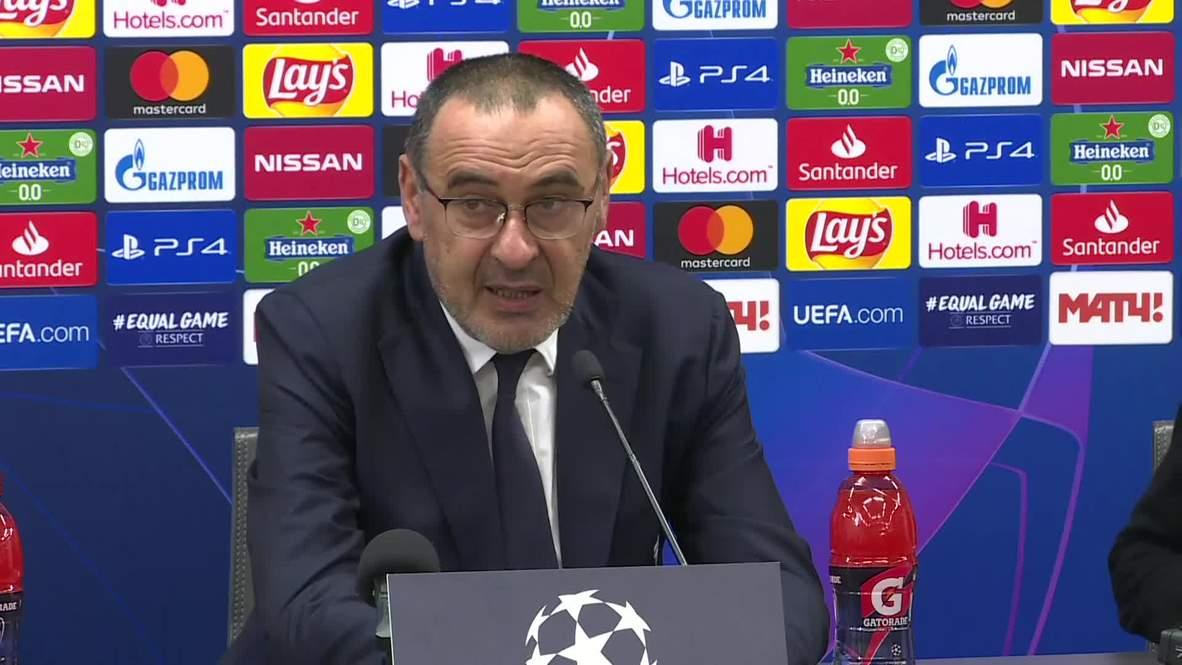 Russia: Sarri 'didn't like the match' despite Juventus beating Lokomotiv